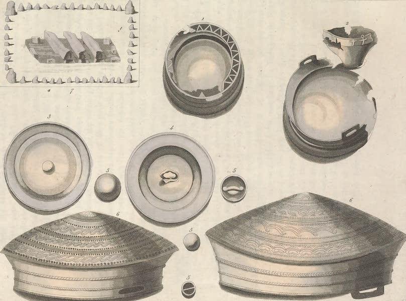 Le Costume Ancien et Moderne [Europe] Vol. 4 - LVII. Urne sepulcrale trouvee pres de Neilingen (1824)