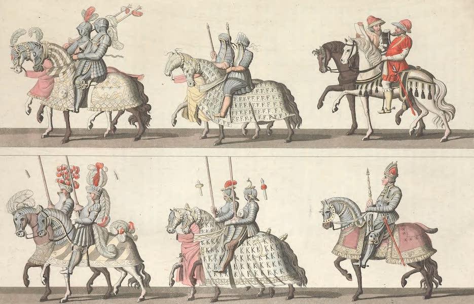 Le Costume Ancien et Moderne [Europe] Vol. 4 - LXXXIV. Continuation du meme tournois (1824)