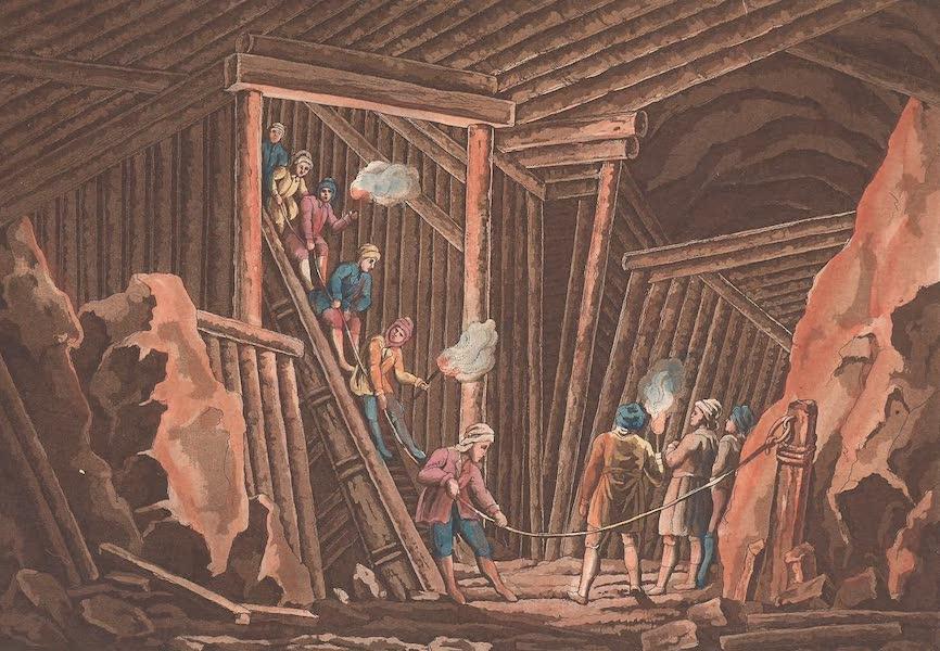 Le Costume Ancien et Moderne [Europe] Vol. 4 - LXXXVIII. Noces de village des paysans de l'Autriche, et leurs danses (1824)