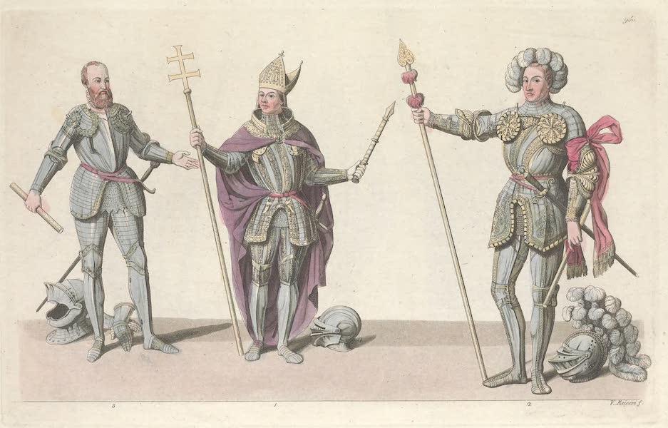 XGIV, No. 1., Frederic comte palatin du Rhin en habit d'electeur : No. 2, Philippe landgrave de Hesse : Guillaume duc de Cleves