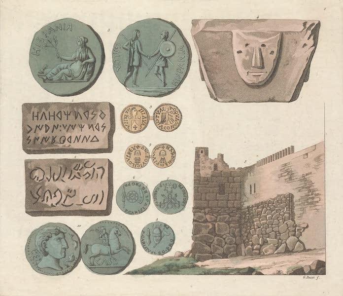 Le Costume Ancien et Moderne [Europe] Vol. 5 - I. Medailles et monumens du tems des Celtiberiens et des Pheniciens (1825)