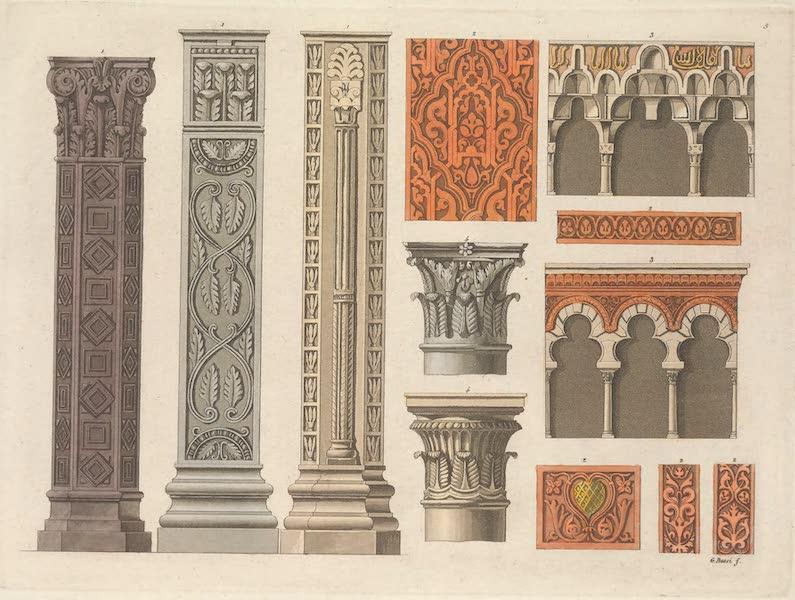Le Costume Ancien et Moderne [Europe] Vol. 5 - V. Piliers, ornemens et tribune de cette mosquee (1825)