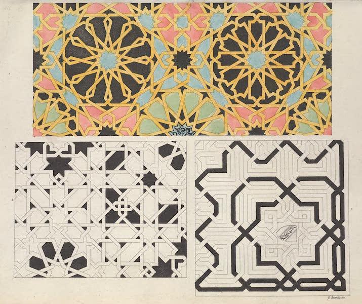 Le Costume Ancien et Moderne [Europe] Vol. 5 - VIII. Mosaiques, pave Arabe etc. (1825)