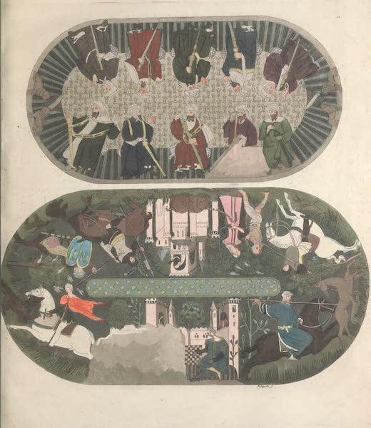 Le Costume Ancien et Moderne [Europe] Vol. 5 - XII. Divan (1825)