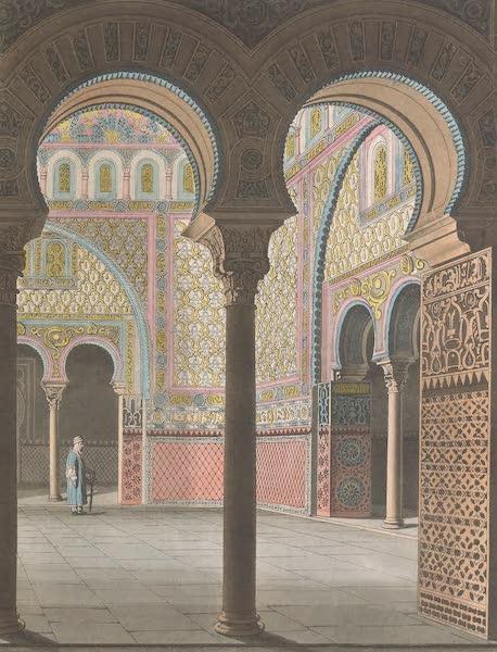Le Costume Ancien et Moderne [Europe] Vol. 5 - XIII. Cour de l'Alcassar de Seville (1825)