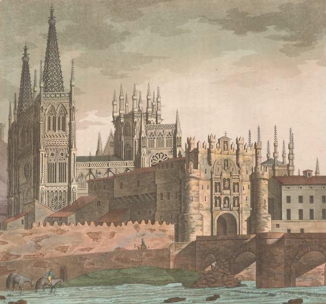 Le Costume Ancien et Moderne [Europe] Vol. 5 - XVI. Exterieur de la cathedrale de Burgos (1825)