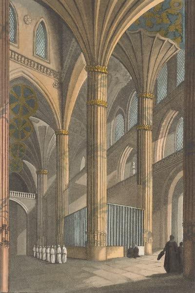 Le Costume Ancien et Moderne [Europe] Vol. 5 - XVII. Interieur de la cathedrale de Salamanque  (1825)