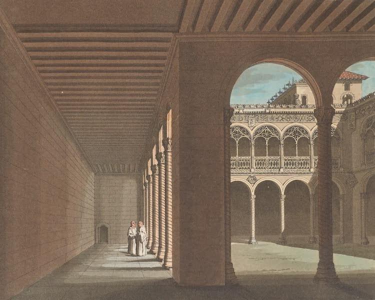 Le Costume Ancien et Moderne [Europe] Vol. 5 - XVIII. Cloitre des Dominicains a Valladolid (1825)