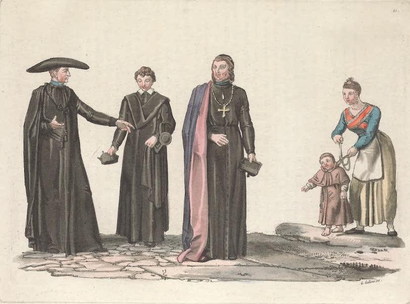 Le Costume Ancien et Moderne [Europe] Vol. 5 - XXL Eveque Portugais dans ses habits non pontificaux (1825)