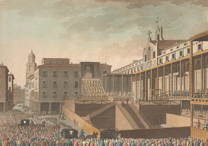 Le Costume Ancien et Moderne [Europe] Vol. 5 - XXII. Auto-da-fe a Valladolid (1825)