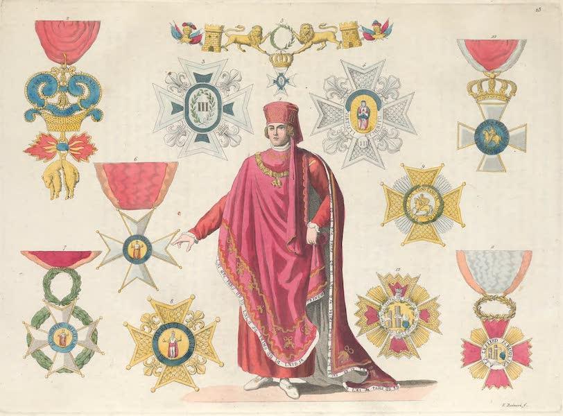 Le Costume Ancien et Moderne [Europe] Vol. 5 - XXIII. Toison d'or et autres ordres chevaleresques (1825)