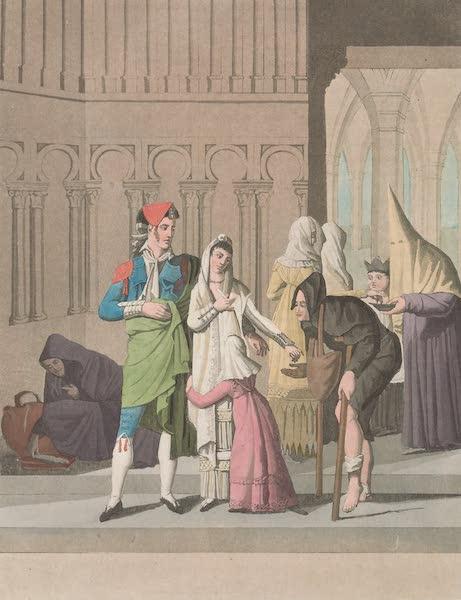 Le Costume Ancien et Moderne [Europe] Vol. 5 - XXVII. Costumes de Tolede (1825)