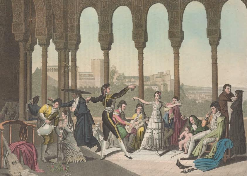 Le Costume Ancien et Moderne [Europe] Vol. 5 - XXVIII. Chasse des taureaux (1825)