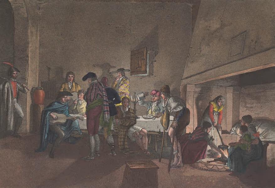 Le Costume Ancien et Moderne [Europe] Vol. 5 - XXXI. Interieur d'une auberge dans le royaume de Valence (1825)