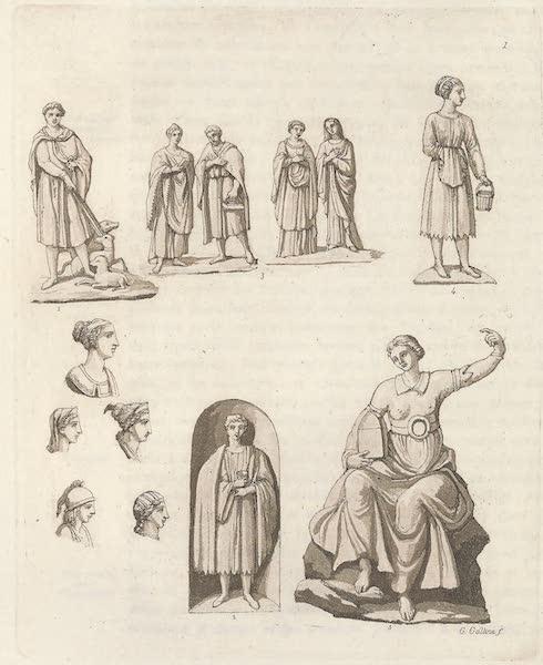 Le Costume Ancien et Moderne [Europe] Vol. 5 - I. Habits des Gaulois (1825)