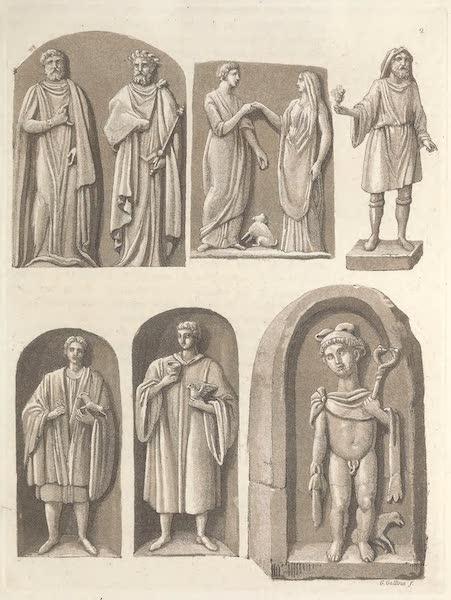 Le Costume Ancien et Moderne [Europe] Vol. 5 - II. Habits et ornemens des Druides (1825)