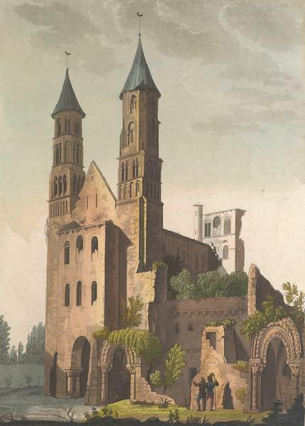 Le Costume Ancien et Moderne [Europe] Vol. 5 - VII. Ruines de l'abbaye de Jumieges (1825)