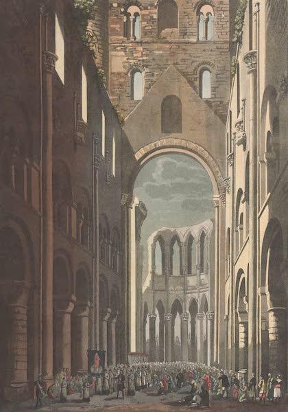 Le Costume Ancien et Moderne [Europe] Vol. 5 - VIII. Eglise de cette abbaye (1825)