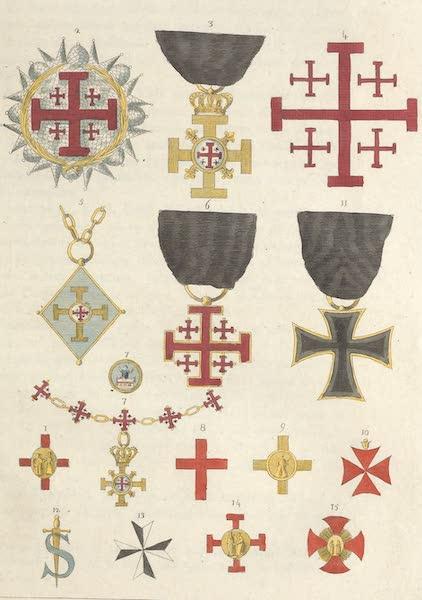 Le Costume Ancien et Moderne [Europe] Vol. 5 - XVIII. Ordres religieux et milit. fondes dans le tems des croisades (1825)