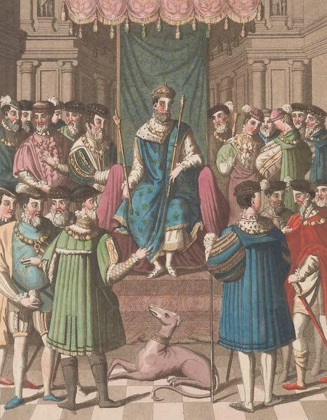 Le Costume Ancien et Moderne [Europe] Vol. 5 - XXXVI. Entrevue de Francois I. et de Henri VIII. (1825)