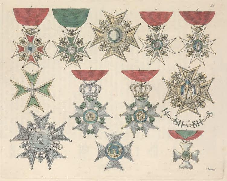 Le Costume Ancien et Moderne [Europe] Vol. 5 - XLV. Ordre de St. Lazare etc. (1825)