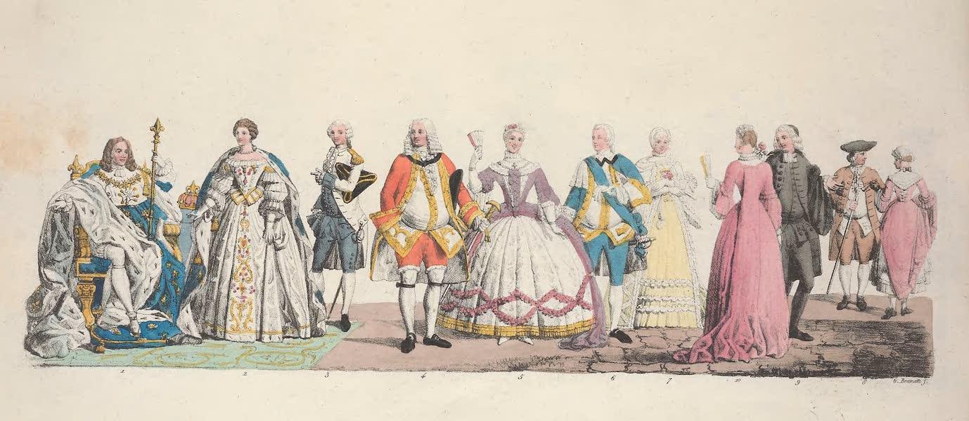 Le Costume Ancien et Moderne [Europe] Vol. 5 - L. Louis XV, Marie Leczinski reine de France etc. (1825)