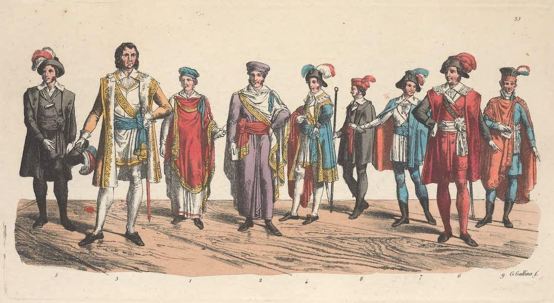 Le Costume Ancien et Moderne [Europe] Vol. 5 - LIII. Membres du Corps-legislatif et du Directoire-executif (1825)