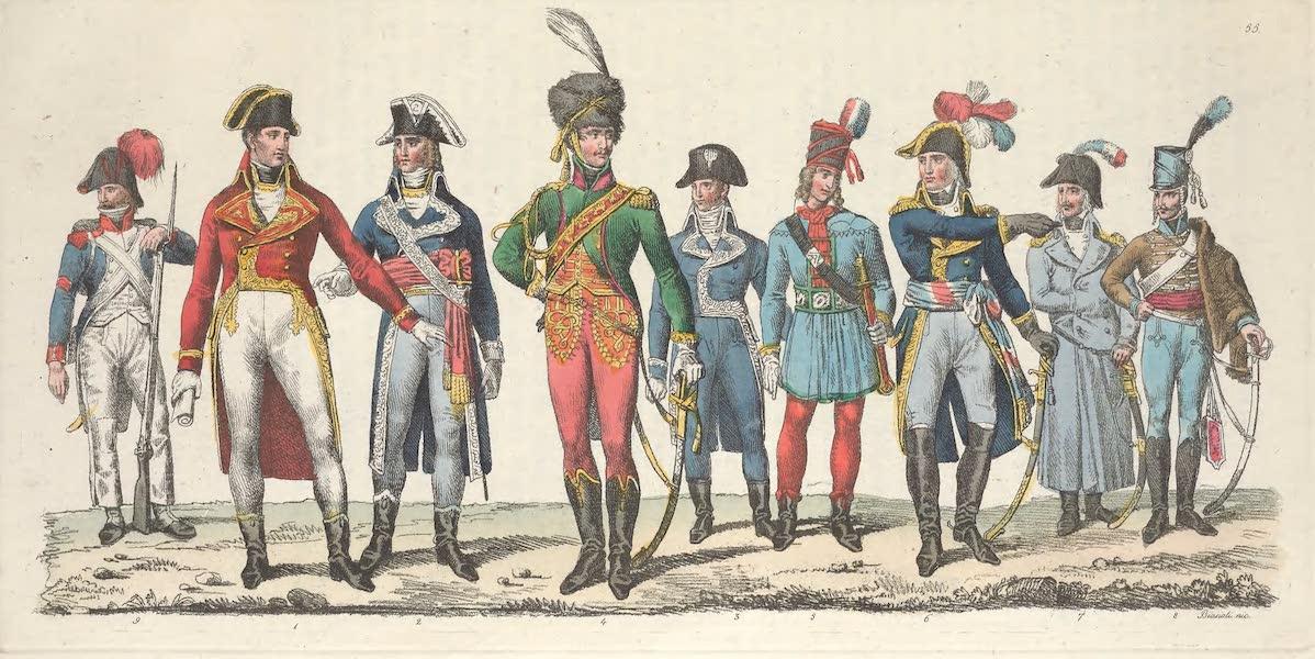 Le Costume Ancien et Moderne [Europe] Vol. 5 - LV. Costume du premier consul et des ministres (1825)