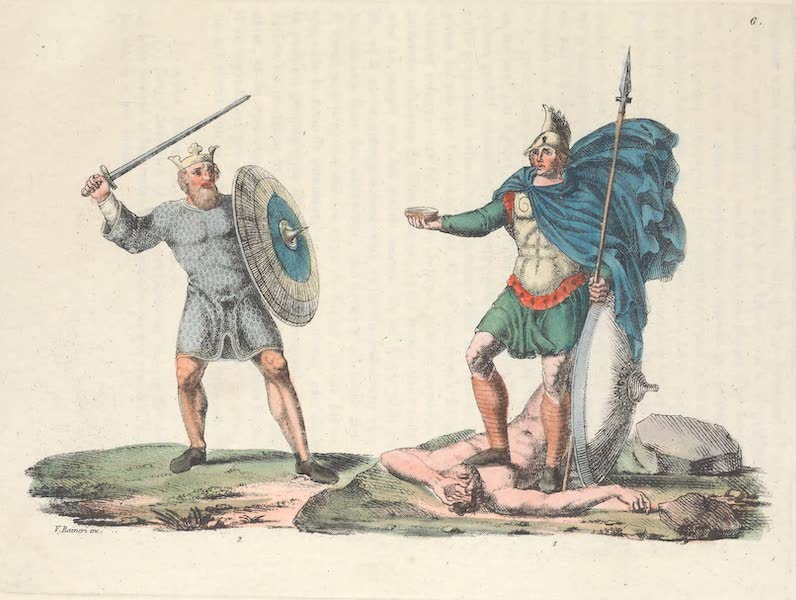 VI. Saxons et Anglo-Saxons