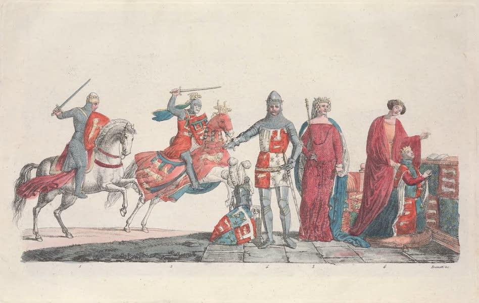 IX. Richard, le comte de Lancaster, Jeanne Plantagenet et Philippie de Hainaut