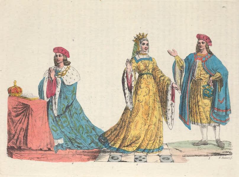 Le Costume Ancien et Moderne [Europe] Vol. 6 - X. Henri VI et Marguerite d'Anjou (1827)