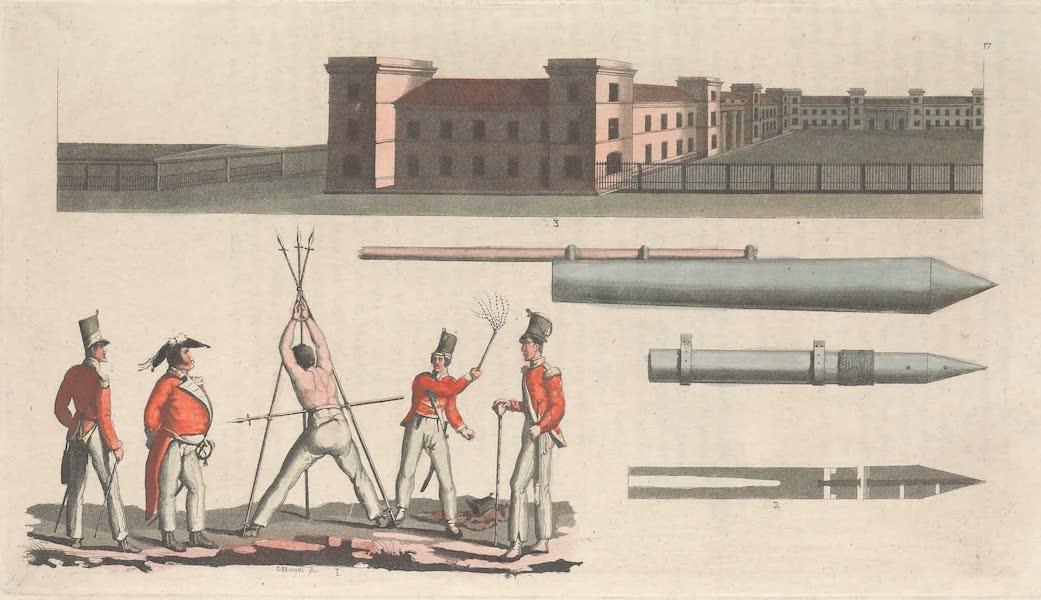 XVII. Chatiment militaire, dit du Triangle. Fusees a la Gongreve. Caserne de Cliatam