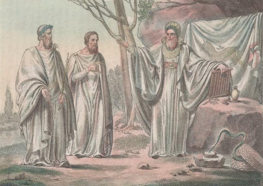 Le Costume Ancien et Moderne [Europe] Vol. 6 - XVIII. Archidruides et Druides (1827)