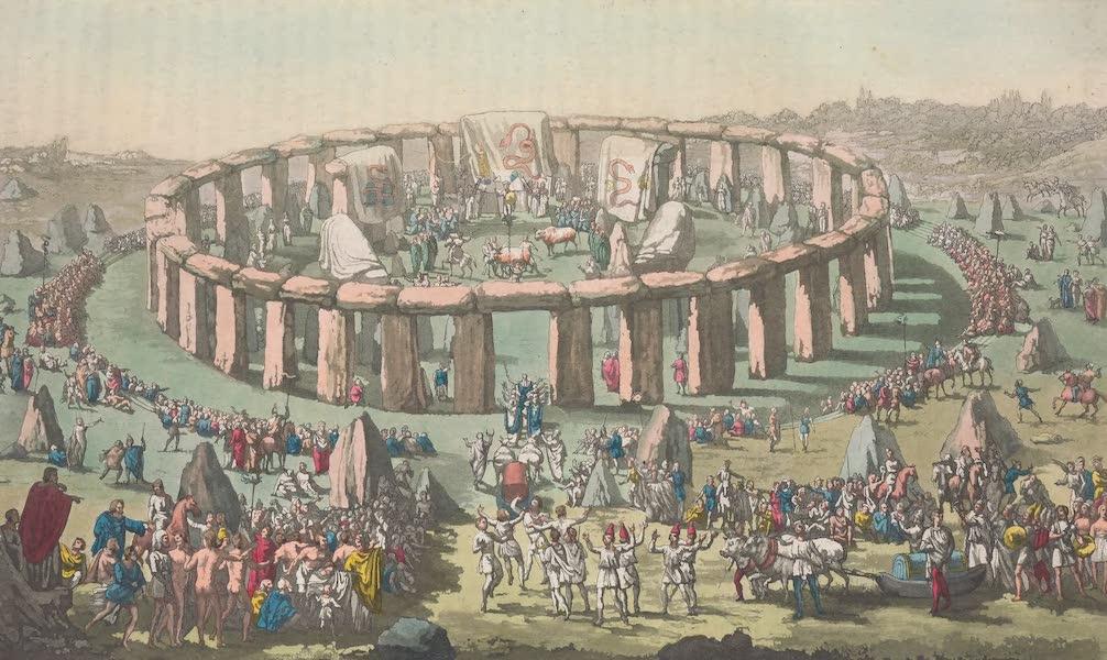 XIX. Stone-Henge, ou Temple circulaire des Druides
