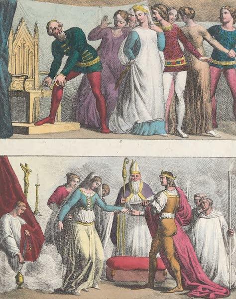 XXI. Noces de Henri I. et de Matilde. Ordre de la jarretiere