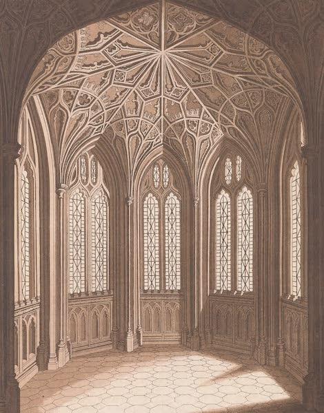 XXV. Partie de l'interieur de l'Abbaye de Westminster