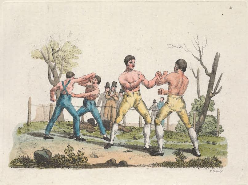 XXXI. Boxeurs