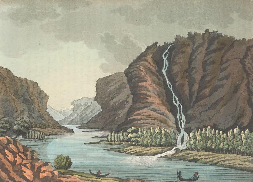 XXXIX. Cascade de Pursovonka sur la riviere Alten
