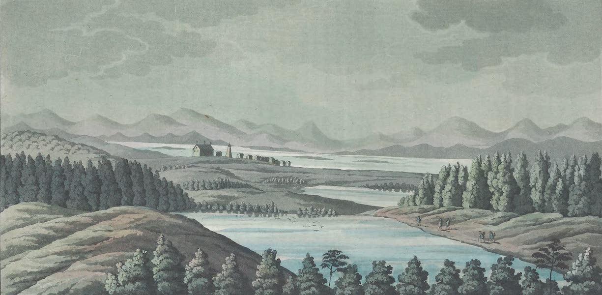 XLVIII. Village ou eglise d'Enontekis en Laponie