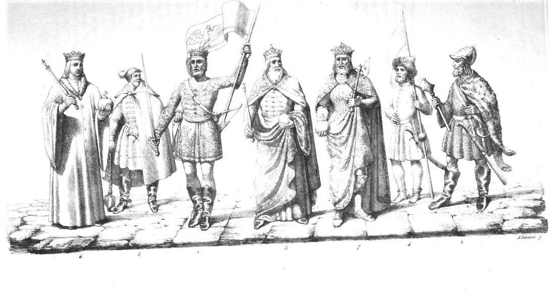 I. Attila, Arpadus, Gyula, Geisa etc.