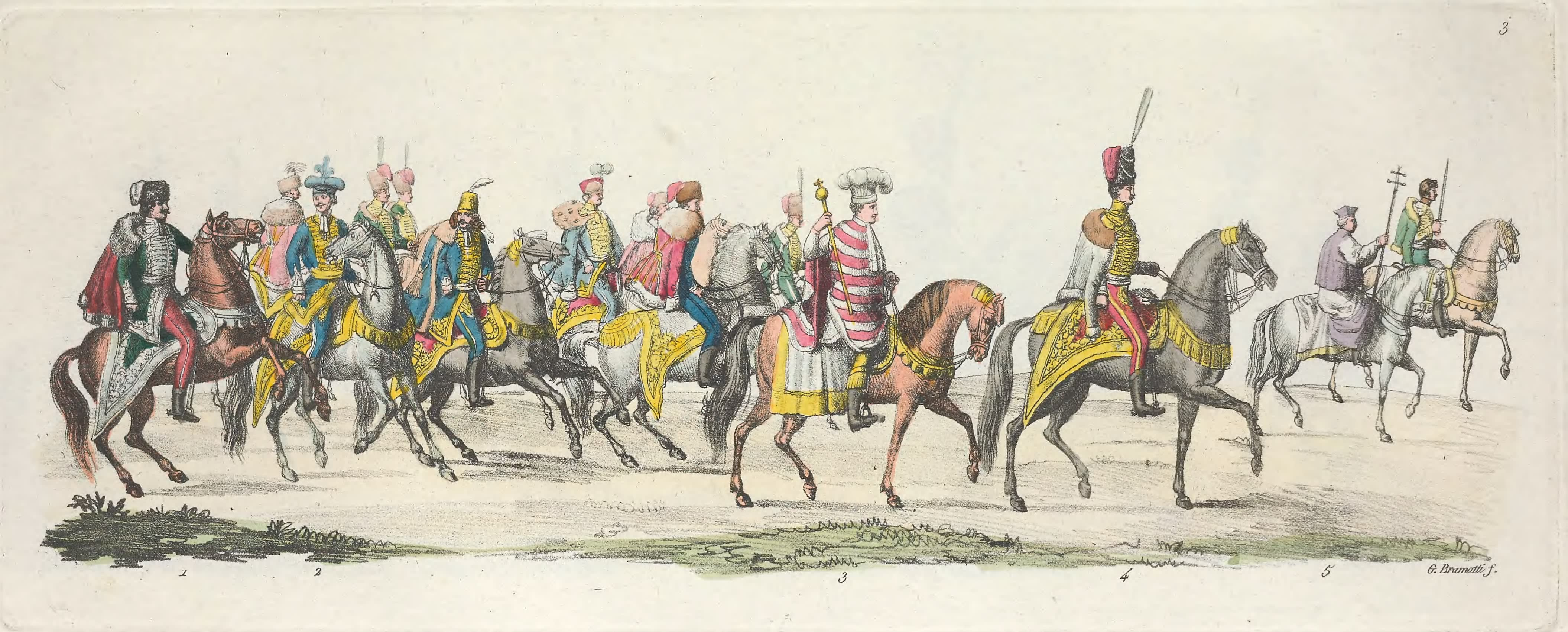 III. Magnats, Heraut, Archidue Palatin etc.