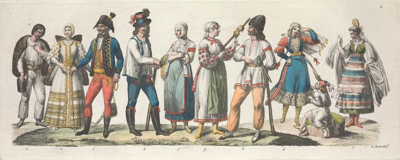 VI. Habillement de la noblesse hongroise etc.