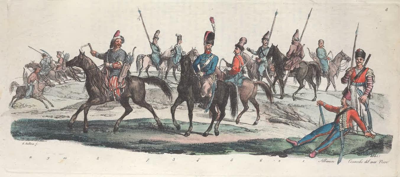 VIII. Cosaques du Don, de l'Ukraine, de la mer noire, de l'Ural etc.