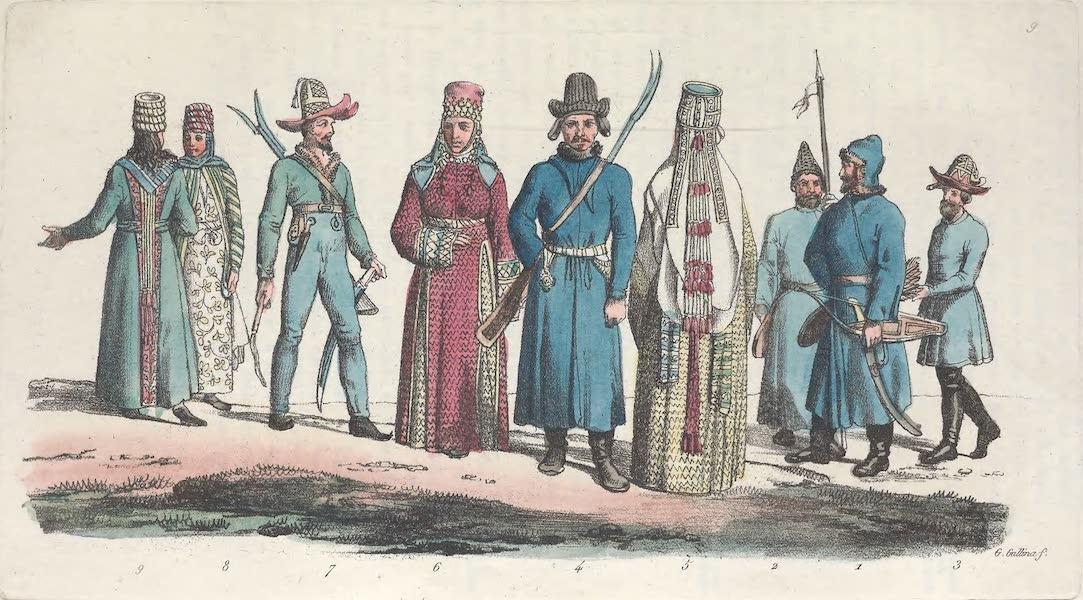 IX. Kirguises etc.