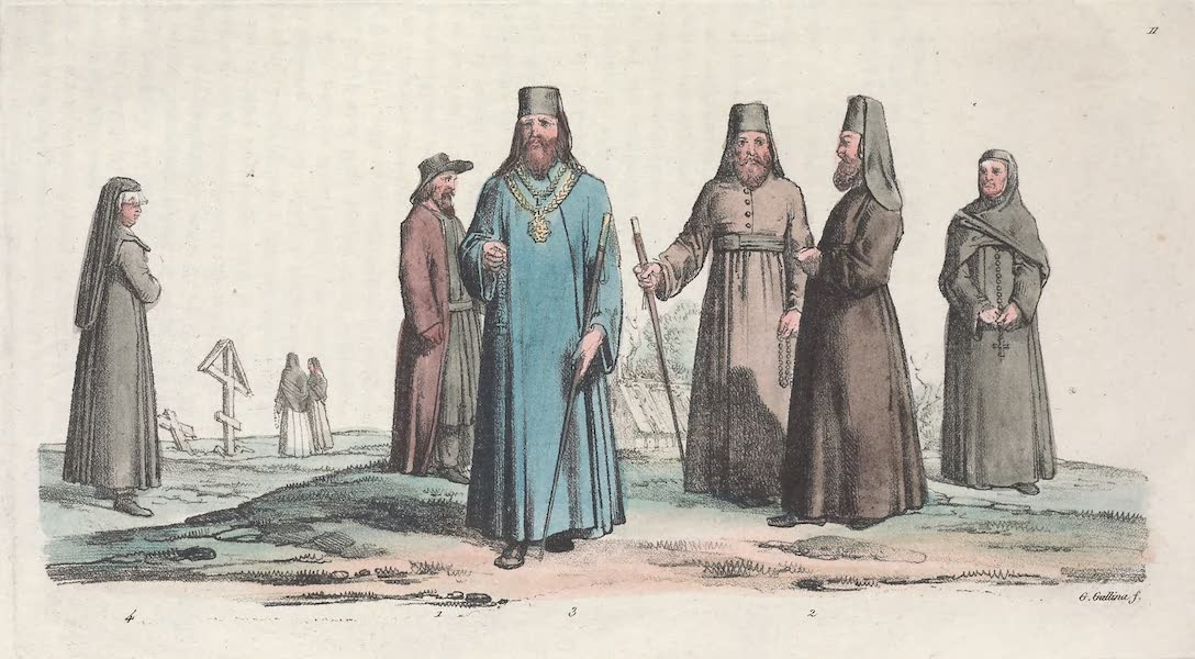 XI. Popi, archimandrites etc.