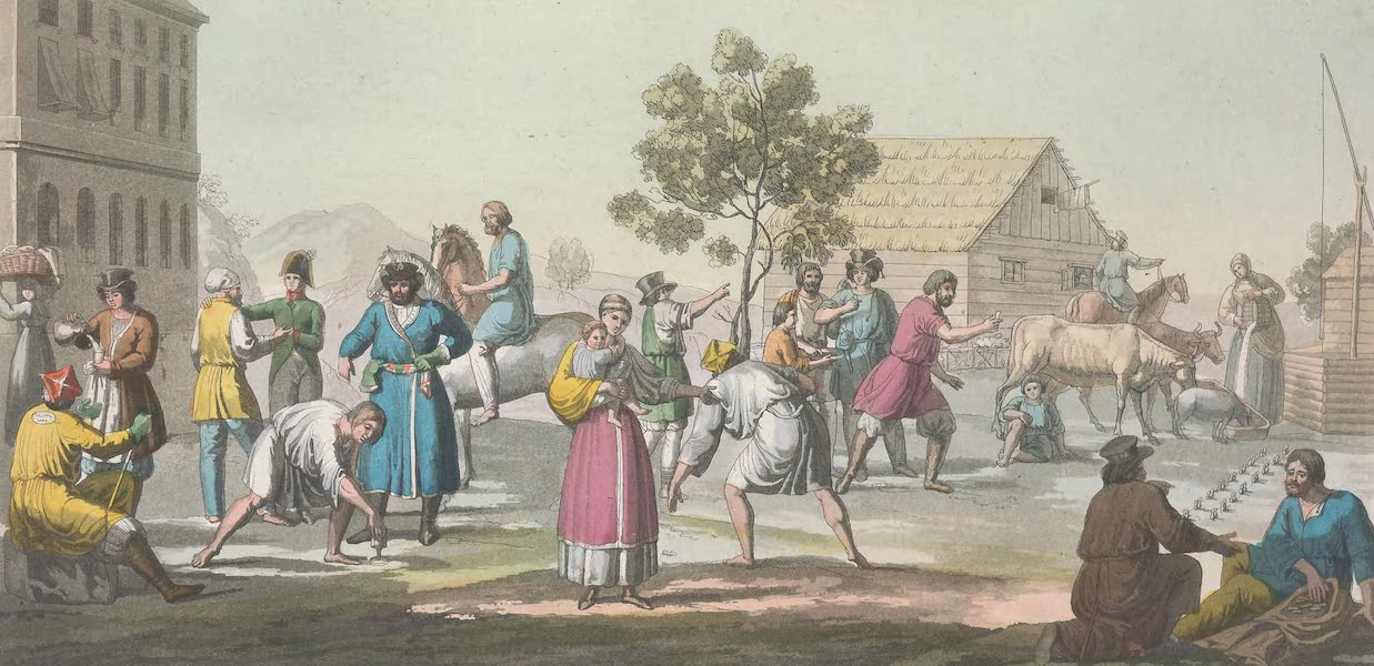 XVII. Le jeu du svayky, du babky