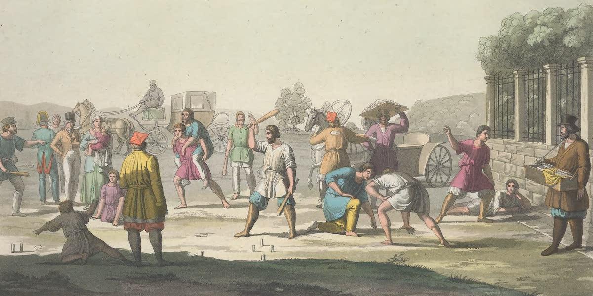 Le Costume Ancien et Moderne [Europe] Vol. 6 - XVIII. Le jeu du gorodky, du priatinky (1827)