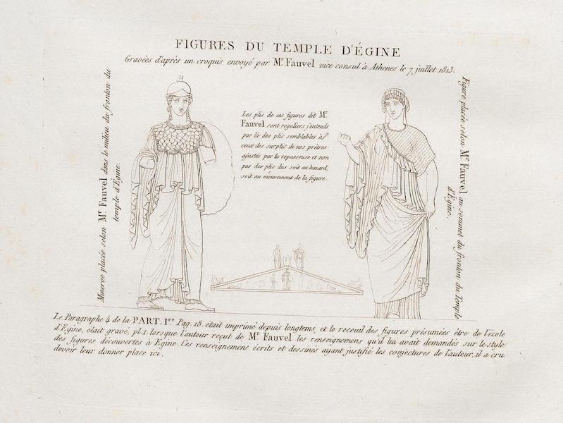 Le Jupiter Olympien - Figures du Temple d'Egine (1815)