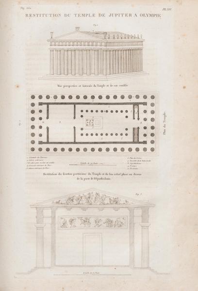 Le Jupiter Olympien - Pl. XII. Restitution du même (1815)