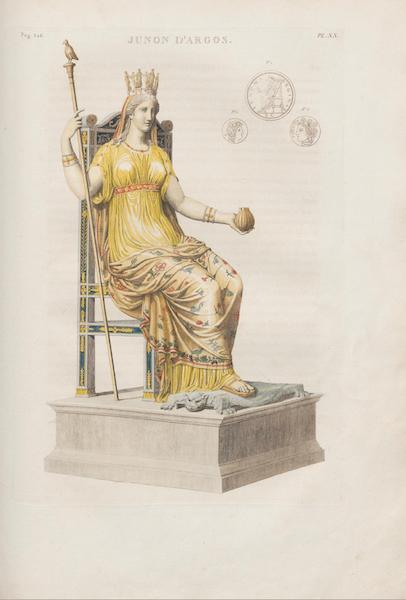 Le Jupiter Olympien - Pl. XX. Junon d'Argos par Polyclète (1815)